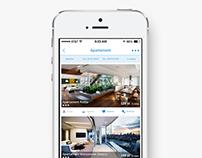 BookApart - iOS App design
