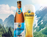 Alpina - an incomparable taste of Siberian beer!