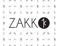 Zakk #2 logo concept