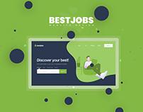 BestJobs - Rebrand Contest Web Design
