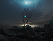 MICHAL KARCZ Parallel Worlds website Graphic design