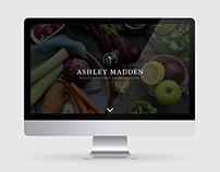 Ashley Madden Logo and Website