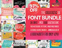 Greatastic Font Bundle