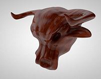 Wooden Bull