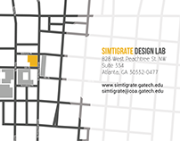 Simtigrate Design Lab Brochure Design
