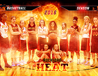 Girls Basketball Team Promo