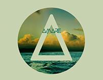 AMARE logo design