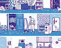 Riso Print Comic