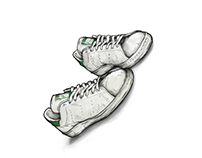 Adidas - Stan Smith illustration