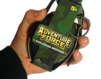Adventure Force Grenade Packaging