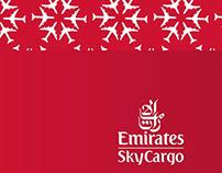 Infographics for Emirates Sky Cargo