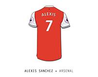 Alexis Sanchez • Arsenal