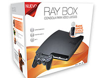 [RAY BOX] Packaging de consola para videojuegos