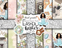 Easter Wishes Paper