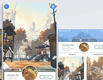 Photo App - UX/UI Design and Animation