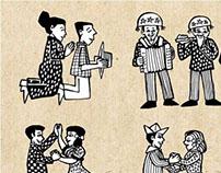 Ilustrações Rústicas