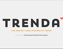 Trenda - Geometric Sans Serif