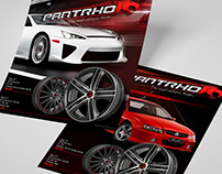 PNTHRO WHEELS | Brand Concept + Catalogue