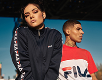 FILA new heritage collection SS2017 + Video