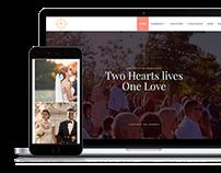 Wedding WordPress Theme Laptop View