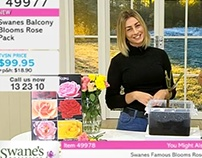 Media- Selling roses LIVE on TVSN