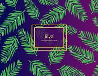 Lilya - Brand identity