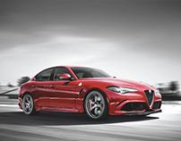 FIAT Pitch - Landing Page: Alfa Romeo - Giulia