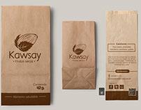 Diseño de Isologotipo Kawsay Frutos secos