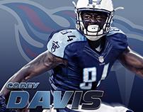 Corey Davis Titans jersey swap