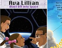 Ava Lillian, Blast Off Into Space