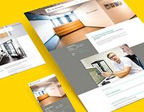 Corporate Design | Webseite | Dr. Göttinger