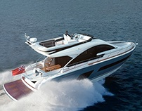 Fairline Squadron 53 | CGI & Retouching