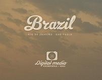 Brasil-Sao Paulo-Rio de Janeiro- Florianopolis
