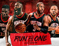 Houston Rockets 2018 Run As One Playoff Campaign