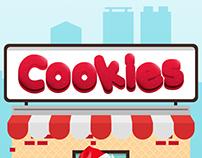 Cookies Christmas Design