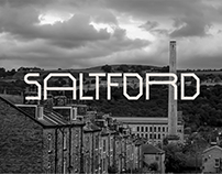 Saltford - Industrial Display Typeface