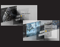 UI Design @ XBOX