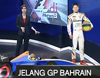 Immersive Graphics Formula 1 - Bahrain - Inewstv