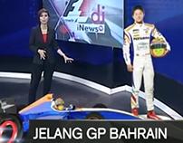 Immersive Graphics Formula 1 - Bahrain - Inewstv