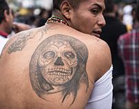 Santa Muerte, México.