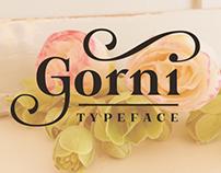 Free Font of the Week - Gorni
