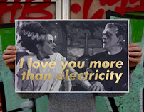 I love you more than electricity / Silkscreen / SE