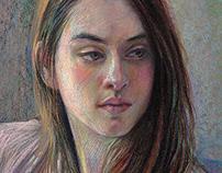 Pastel portrait_Ivy