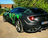 Ferrari FF snake