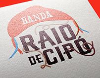 Logo projetada para a Banda Raio de Cipó