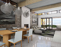 Apartment visualization with Unreal Engine 4