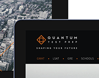 Quantum Test Prep. IA/UX/UI