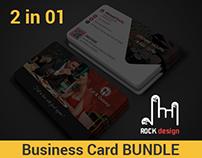 Restaurant Business Card Bundle 2 in 1