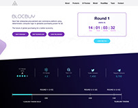 Blockchain Project Landing Page