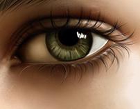 Eye painting tutorial